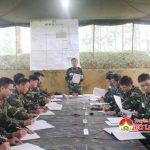 Sư đoàn 324 (Quân khu 4)  Luyện tập chuyển trạng thái sẵn sàng chiến đấu
