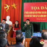 Lãnh đạo huyện Đô Lương thăm, tặng quà cán bộ, chiến sỹ  đồn Biên phòng 543 huyện Kỳ Sơn