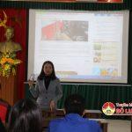Báo Nghệ An tập huấn nghiệp vụ làm báo điện tử cho cộng tác viên Đô Lương