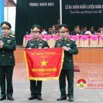 Trung đoàn 3 – Sư đoàn 324 (Quân khu 4)  Đón nhận cờ đơn vị huấn luyện giỏi Bộ quốc phòng