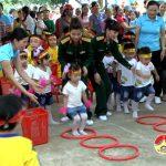 Trường mầm non xã Nam Sơn: Tổ chức giao lưu bé vui, bé khỏe, bé thông minh năm học 2016 – 2017.