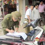 Thị trấn Đô Lương triển khai giải tỏa vi phạm hành lang an toàn giao thông