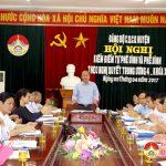 Đảng bộ Cơ quan chính quyền huyện kiểm điểm NQTW4 khóa XII