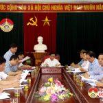 UBND huyện tổ chức phiên họp thường kì tháng 4 và triển khai nhiệm vụ tháng 5