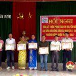 Xuân Sơn tổ chức hội nghị tổng kết 5 năm phong trào thi đua yêu nước của đồng bào công giáo