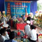 Hòa Sơn tổ chức lễ truy điệu và an táng hài cốt liệt sỹ Thái Doãn Đoàn