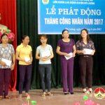 """LĐLĐ huyện Đô Lương: Phát động """"Tháng Công nhân"""" 2017"""