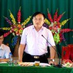UBND huyện Đô Lương làm việc với xã Lưu Sơn