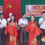 Khánh thành nhà văn hóa xóm 7, xã Thuận Sơn
