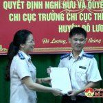 Lễ công bố quyết định bổ nhiệm lãnh đạo, quản lý ngành thi hành án dân sự huyện Đô Lương