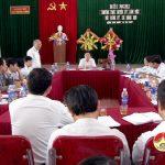 Thường trực huyện ủy làm việc với xã Đặng Sơn