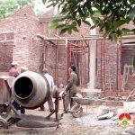 Hội nạn nhân chất độc da cam Đioxin Đô Lương hỗ trợ xây nhà cho nạn nhân