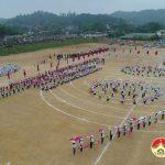 Xã Tràng Sơn tổ chức lễ đón nhận đạt chuẩn Nông thôn mới.