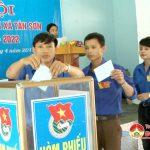 Đại hội đoàn TNCS HCM xã Tân Sơn nhiệm kỳ 2017-2022