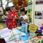 Trường tiểu học Văn Sơn tổ chức giao lưu, tìm hiểu văn hóa đọc sách