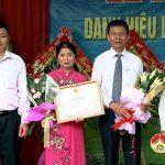 Khối 4 Thị Trấn đón nhận danh hiệu làng văn hóa năm 2016