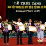"""Huyện Đô Lương tổ chức lễ truy tặng danh hiệu vinh dự Nhà nước """" Mẹ Việt Nam anh hùng"""""""
