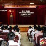 Huyện ủy Đô Lương tập huấn nghiệp vụ kiểm tra, giám sát và thi hành kỷ luật của Đảng năm 2017.