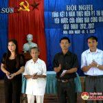 Hòa Sơn tổ chức hội nghị tổng kết phong trào thi đua yêu nước  trong đồng bào công giáo