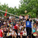 Chung kết giải bóng chuyền nam lễ hội làng Sen.