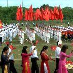 Xã Nam Sơn: Khai mạc đại hội thể dục thể thao lần thứ VIII năm 2017