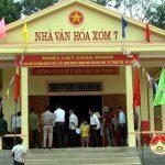 Đô Lương xây dựng 150 nhà văn hóa xóm