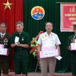 Hội bộ đội truyền thống đường Trường Sơn xã Đặng Sơn kỷ niệm 58 năm ngày truyền thồng.