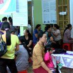 Quỹ TYM Đô Lương tổ chức khám sức khỏe cho các thành viên