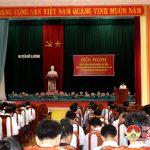 Huyện ủy Đô Lương tổ chức hội nghị tổng kết mô hình bí thư kiêm xóm trưởng, khối trưởng nhiệm kỳ 2015 – 2017; Triển khai hướng dẫn Đại hội Chi bộ gắn với bầu xóm trưởng, khối trưởng nhiệm kỳ 2017 – 2020.