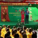 Trường Mầm non Lam Sơn tổ chức lễ đón nhận bằng công nhận trường chuẩn Quốc gia mức độ 1.