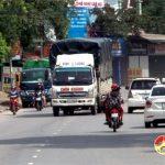 Quốc lộ 15A đoạn giáp ranh Thị trấn và xã Đà Sơn thường xuyên xảy ra tai nạn giao thông.