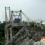 Đô Lương nâng cấp, sửa chữa đường vào cầu treo Đò Mượu xã Bắc Sơn