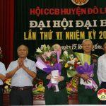 Hội Cựu chiến binh huyện Đô Lương Đại hội đại biểu lần thứ VI nhiệm kì 2017 – 2022.