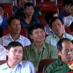 Đại biểu HĐND huyện tiếp xúc cử tri xã Đông Sơn