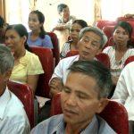 Cử tri Lam Sơn có nhiều kiến nghị với HĐND huyện.