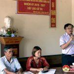 Đoàn đại biểu HĐND huyện tiếp xúc cử tri xóm 8 xã Minh Sơn