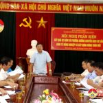 UBMTTQ Đô Lương tổ chức phản biện kết quả chuyển dịch cơ cấu kinh tế và xây dựng NTM.