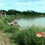 Các tàu hút cát trái phép gây sạt lở bờ sông Lam địa phận xã Thuận Sơn