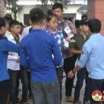 Huyện Đoàn Đô Lương: Tổ chức tiếp sức mùa thi năm 2017 tại kì thi tuyển sinh vào lớp 10.