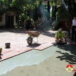 Xã Xuân Sơn đầu tư 100 triệu nâng cấp, tu sửa nhà bia