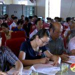 Đại biểu HĐND tỉnh và HĐND huyện tiếp xúc cử tri tại xã Nhân Sơn