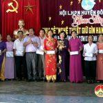 Hội phụ nữ huyện Đô Lương tổ chức chương trình giao lưu chia sẻ nghệ thuật giữ gìn hạnh phúc gia đình