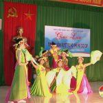 Hội phụ nữ Văn Sơn  tổ chức giao lưu tìm hiểu Nghị quyết đại hội phụ nữ các cấp.