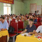 Đồng chí Ngọc Kim Nam – Đại biểu HĐND tỉnh tiếp xúc cử tri xã Quang Sơn.