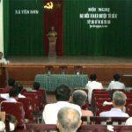 Đại biểu HĐND huyện tiếp xúc cử tri xã Yên Sơn