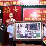 Trường quân sự quân khu 4 tổ chức cho học viên K73 thực tế tại địa bàn Đô Lương.