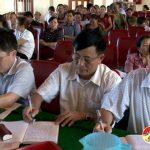Đại biểu HĐND huyện tiếp xúc cử tri xã Thịnh Sơn