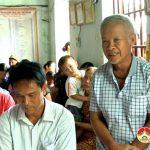 Đại biểu HĐND huyện tiếp xúc cử tri xã Giang Sơn Đông