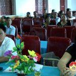 Đại biểu HĐND huyện Đô Lương tiếp xúc cử tri Thị trấn Đô Lương.