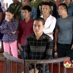 Tòa án nhân dân huyện Đô Lương xét xử lưu động vụ tàng trữ trái phép chất ma túy.